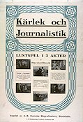 Kärlek och journalistik 1916 Movie poster Harriet Bloch