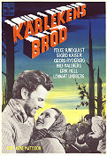 K�rlekens br�d 1953 Movie poster Folke Sundquist Arne Mattsson