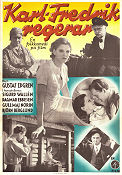 Karl-Fredrik regerar 1934 Movie poster Sigurd Wallén