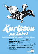 Karlsson på taket 1976 Movie poster Olle Hellbom