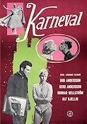 Karneval 1961 Movie poster Bibi Andersson