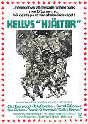 Kelly's Heroes 1970 Movie poster Clint Eastwood