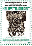 Kelly´s Heroes 1970 poster Clint Eastwood Brian G Hutton