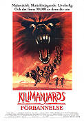 In the Shadow of Kilimanjaro 1986 Movie poster John Rhys-Davies Raju Patel