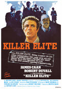 Killer Elite 1976 Movie poster James Caan Sam Peckinpah