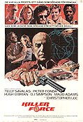 Killer Force 1976 poster Telly Savalas