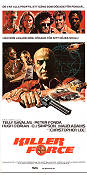 Killer Force 1976 Movie poster Telly Savalas