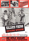 Killers Three 1968 poster Robert Walker Bruce Kessler