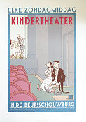 Kindertheater in de Beursschouwburg 1987 poster