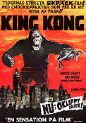 King Kong 1933 Movie poster Bruce Cabot