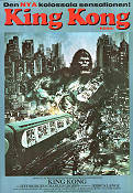 King Kong 1976 Movie poster Jessica Lange John Guillermin