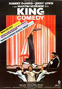 The King of Comedy 1981 Movie poster Robert De Niro Martin Scorsese