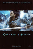 Kingdom of Heaven 2005 Movie poster Orlando Bloom Ridley Scott