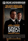 The King´s Speech 2010 poster Colin Firth Tom Hooper