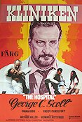 The Hospital 1972 poster George C Scott