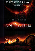 Knowing 2009 Movie poster Nicolas Cage