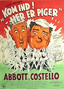 Kom ind 1949 Movie poster Abbott and Costello
