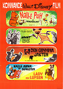 Kommande Walt Disney film 1965 Movie poster Nalle Puh