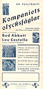 Buck Privates 1949 poster Abbott and Costello
