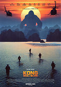 Kong Skull Island 2017 poster Tom Hiddleston Jordan Vogt-Roberts