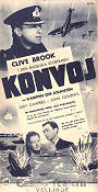 Convoy 1940 poster Clive Brook Pen Tennyson