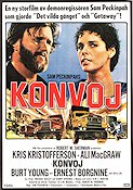 Convoy 1978 Movie poster Kris Kristofferson Sam Peckinpah