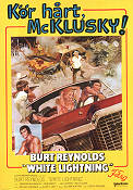 White Lightning 1973 Movie poster Burt Reynolds