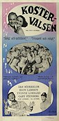 Kostervalsen 1957 Movie poster �ke S�derblom