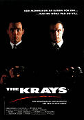 The Krays 1990 Movie poster Billie Whitelaw Peter Medak