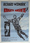 Time Limit 1958 Movie poster Richard Widmark