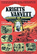 Krigets vanvett 1963 Movie poster Tore Sj�berg