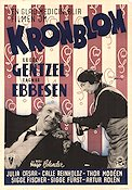 Kronblom 1947 Movie poster Ludde Gentzel