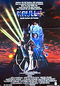 Krull 1983 Movie poster Ken Marshall Peter Yates
