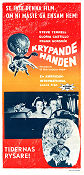 Invasion of the Saucer Men 1957 poster Steve Terrell Edward L Cahn