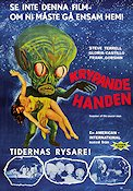 Invasion of the Saucer-men 1961 Movie poster Steve Terrell