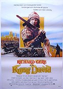 King David 1985 Movie poster Richard Gere