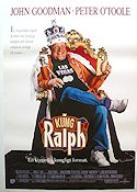 King Ralph 1990 Movie poster John Goodman