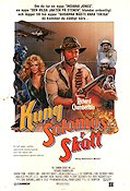 King Solomon's Mines 1985 Movie poster Richard Chamberlain
