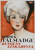 Du Barry Woman of Passion 1930 Movie poster Norma Talmadge