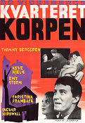 Kvarteret Korpen 1963 Movie poster Thommy Berggren Bo Widerberg