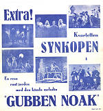 Kvartetten Synkopen 1948 Movie poster