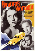 Kvinnor i v�ntrum 1946 Movie poster Arnold Sj�strand