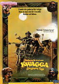 Kwagga Strikes Back 1990 Movie poster Leon Schuster