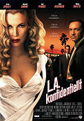 L A Confidential 1997 Movie poster Kevin Spacey Curtis Hanson