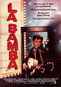 La Bamba 1987 Movie poster Lou Diamond Phillips