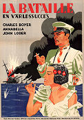 The Battle 1934 poster Charles Boyer Nicolas Farkas