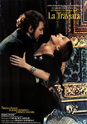 La Traviata 1982 Movie poster Placido Domingo Franco Zeffirelli