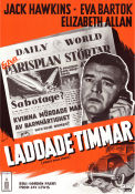 Front Page Story 1954 poster Jack Hawkins