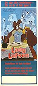 Lady and the Tramp Poster 30x70cm NM original