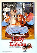 Lady and the Tramp 1955 poster Disney
